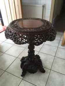 rosewood-side-table